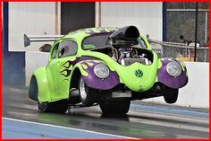 vw dung beetle okc | Vw Beetle with a V8 Pro Mod testing ...OK, so it's not 'air cooled', but it's still COOL !!!