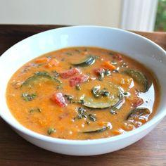 Autumn Sweet Potato Soup
