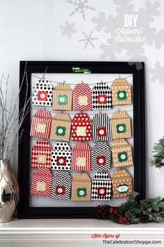 Easy and oh so cute, Christmas advent calendar #AlexiaHolidays