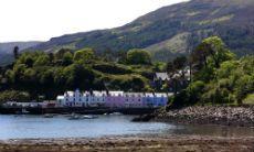 Looking across Portree Bay, Isle of Skye