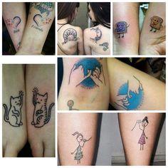 Best friends/sisters tattoos