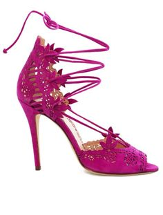 Featured Shoes: Marchesa; Wedding shoes idea.