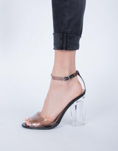 eb7bbf8a816 Open Toe Clear Heels from Saved to Shoes Shoes Shoes! Shop more products  from on Wanelo.