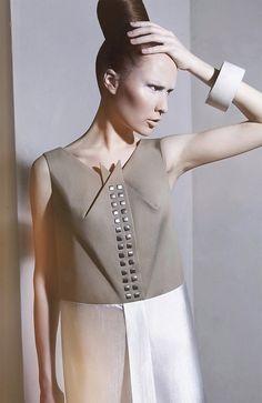'Overground' AW'2013-2014 Fashion Collection // DZHUS  Very sculptural.