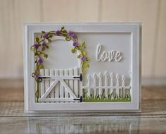 The Stampin' Bean: Taylored Expressions Sneak Peek Day The Secret Garden Scrapbook Expo, Scrapbooking, Cute Cards, Diy Cards, Cumpleaños Diy, Quilling, Swing Card, New Home Cards, Anniversary Cards