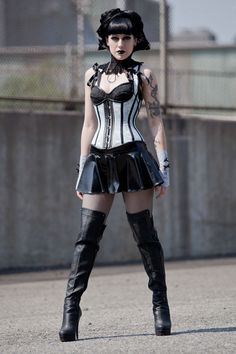 Items similar to Dramatic Victorian Steampunk Gothic Vampire black lace neck corset collar - custom made to your size on Etsy Viktorianischer Steampunk, Steampunk Fashion, Steampunk Necklace, Gothic Mode, Gothic Lolita, Victorian Gothic, Gothic Metal, Gothic Art, Dark Fashion