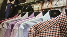 Custom dress shirts are made to order shirts that are stitched according to choice of the client. So choose fabric, pattern, and color and thread weight of the shirt Selling Used Clothes Online, Online Clothes, Vetements T Shirt, Resale Clothing, Digital Trends, Konmari, New Outfits, Casual Looks, Home Goods