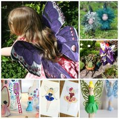 Over 30 magical Fairy related Crafts! This will keep fairy lovers busy!! I do believe in fairies, I do, I do!!!