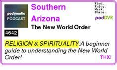 #RELIGION #PODCAST  Southern Arizona Community Church Podcast    The New World Order    LISTEN...  http://podDVR.COM/?c=870fc0e6-3263-71cb-b7d5-4ac0b3401a3d