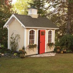 We designed this shed with money saving in mind. Even the dimensions are designed to make the most efficient use of lumber. Cheap Storage Sheds, Storage Shed Plans, Closet Storage, Wood Shed Plans, Diy Shed Plans, Carport Plans, Barn Plans, Backyard Sheds, Backyard Landscaping
