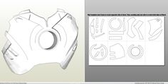 pdo file template for Iron Man - Mark 4 & 6 Full Armor +FOAM+. Iron Man Helmet, Iron Man Suit, Iron Man Armor, Iron Man Cosplay, Cosplay Armor, How To Make Iron, Imprimibles Harry Potter, Paper Aircraft, Iron Man Movie