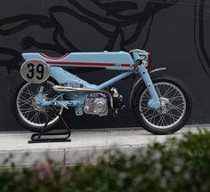 1961 Honda Super Cub revamp by Deus Ex Machina