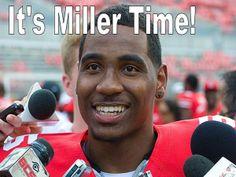 Braxton Miller - OSU Freshman Quarterback.