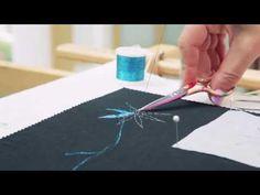 FASHION RULES TECHNIQUE: Satin stitch - YouTube