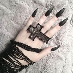 her gothic manicure is the business!