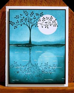 reflection card