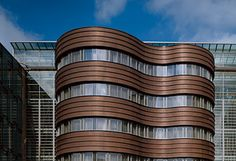 CONTINUOUS METAL LAMINATE FOR FACADE TECU® OXID TECU® COLLECTION BY KME ITALY S.P.A. - ARCHITECTURAL SOLUTIONS