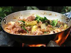 Village Food Factory | Cooking PORK STEW in My Village | Amazing PORK ST...
