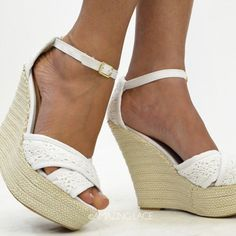 1000 images about white lace wedges on white