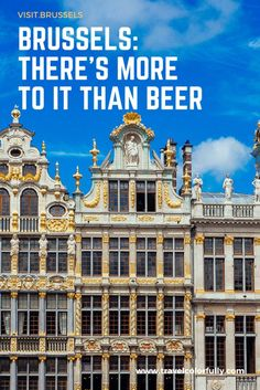 Brussels: There's more than beer