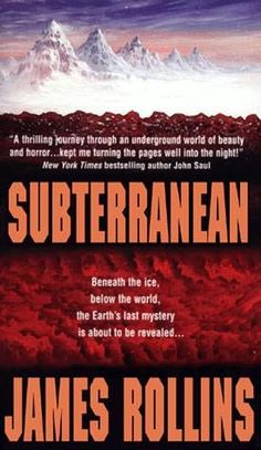 Subterranean. I just finished reading this again. LOVE this book. Everything he writes pulls me into the story.