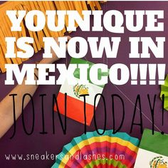 You can now become a #Younique presenter in #Mexico! Take advantage of this amazing #opportunity, earn #money AND play with #makeup! JOIN TODAY!! #Beauty #skincare