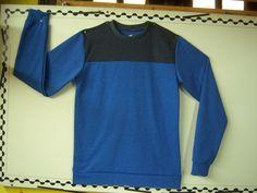 artículo PL191 buso de hombre para tela algodon rústico talles del 1 al 4