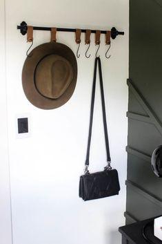 Modern Entry Wall Hooks [with a Cricut!] - Love Create Celebrate