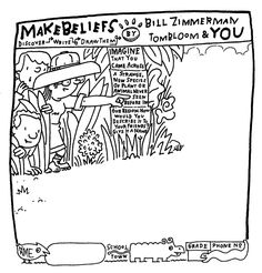 Printable: imagine you discovered a new species of plans or animal. What would it look it. MakeBeliefsComix.com