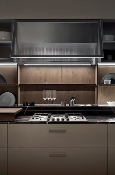 Attractive Kitchen Cabinet Design Ideas You Must See! Modern Kitchen Interiors, Modern Kitchen Cabinets, Modern Kitchen Design, Interior Design Kitchen, Layout Design, Kitchen Cupboard Designs, Kitchen Design Gallery, Kitchen Modular, Ideas Hogar