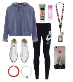 """""""Teen trendy cute"""" by susie192002 on Polyvore featuring NIKE, Miss Selfridge, Converse and Victoria's Secret"""