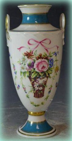 Minton Porcelain Blue Celeste Vase