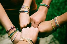 friendship bracelets #friendseveryday