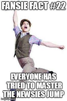Yep (It's a lot easier as a dancer)
