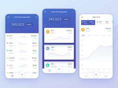 Cryptocurrency Portfolio Concept