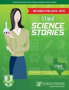 Texas STAAR Science Reading Stories: Grade 3 Workbook