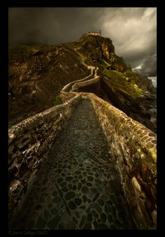 Road to the sky (Spain) by Jose A Gallego