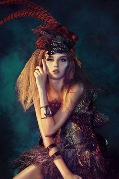 Faisan Dore for Harper's Bazaar x Affordable Art Fair