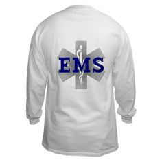 EMS Star of Life Long Sleeve T-Shirt by captainbobs