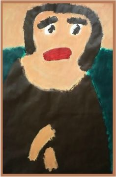 Patrick Francis - Mona Lisa, after Leonardo Da Vinci, acrylic on paper, Mona Lisa, The Incredibles, Paintings, Sculpture, Portrait, Paper, Illustration, Artist, Artwork