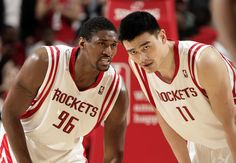 Yao & the player formerly known as Ron Artest.    For the latest Houston Rockets news and updates, visit www.rockets.com.