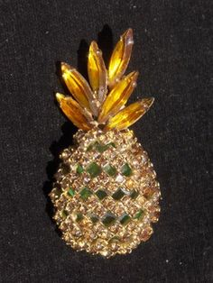 Alice Caviness Pineapple brooch $0.99 ebay auction ends today!