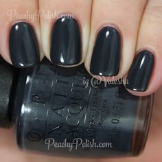 OPI Dark Side Of The Mood | Fifty Shades of Grey Collection | Peachy Polish