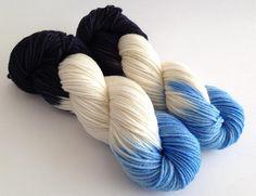 Sale  Celarance  Olaf  Hand Dyed Yarn  by YarnLoftbyJulia on Etsy, $23.00