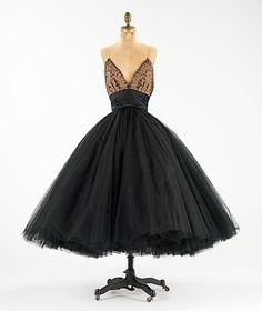 1955 Evening Dress