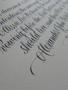 caligrafia a mano - Buscar con Google