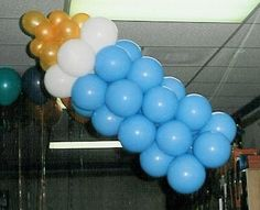 balloon arches for baby showers - Google Search