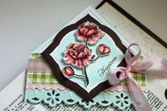 Cute little extra gift... corner bookmark. Great to give along with the special book or journal. Tutorial