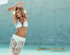 Daily News :  Hellooooo, beautiful! Victoria's Secret model Candice Swanepoel is white-hot in her latest ad campaign. The blond beauty donned a bevy of swimsuits for Agua De Coco's Spring 2013 line. Here's your own behind-the-scenes access to Swanepoel's sexy shoot ...