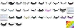 False Eyelashes Cosmetic Companies, False Eyelashes, Superhero Logos, Lash Extensions, Fake Lashes, False Lashes